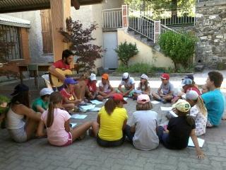 Campo ACR al rifugio Pineta