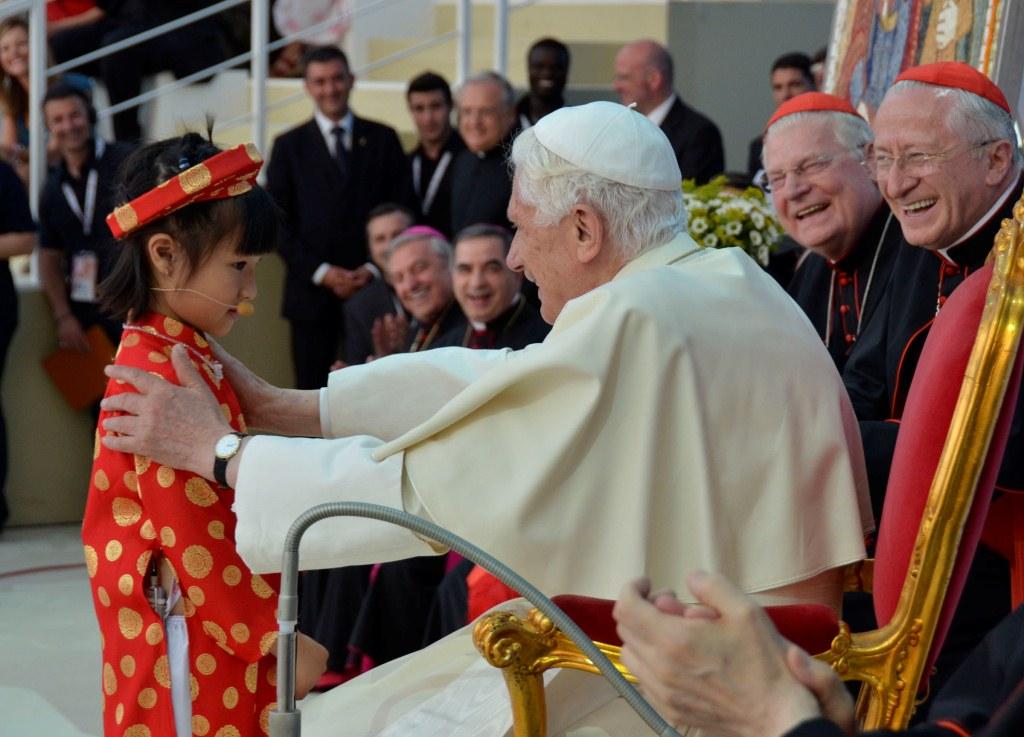 Incontro Famiglie a Bresso, con il Papa