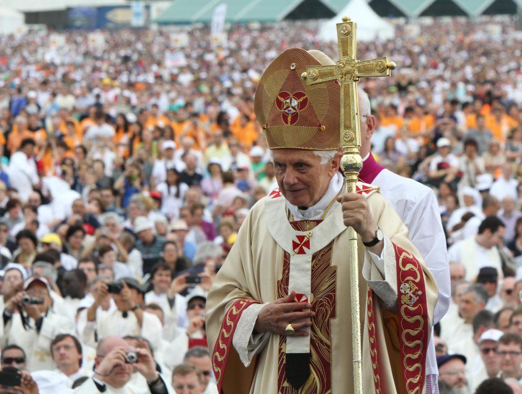 La celebrazione eucaristica presieduta dal Santo Padre, Benedetto XVI