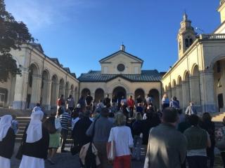La comunità alla Madonna della Guardia