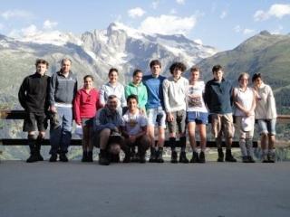 Tour Walser  gruppo Monviso estate 2012