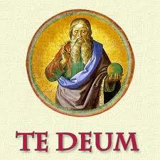 31 Dicembre  – Canto del Te Deum
