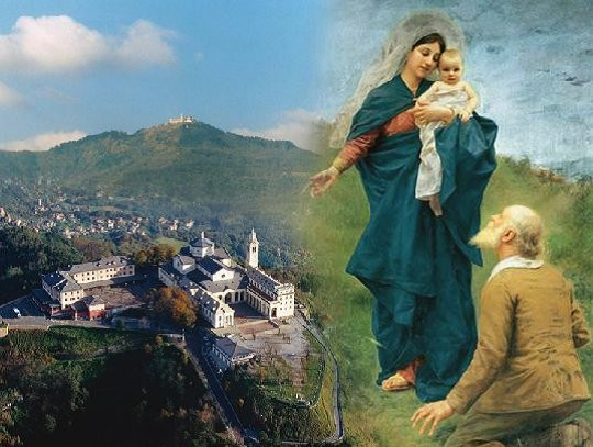 Pellegrinaggio mensile alla Madonna della Guardia
