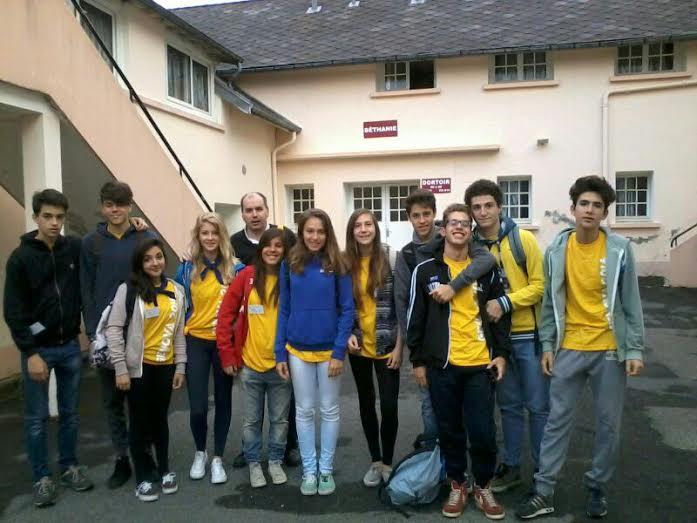I ragazzi della Parrocchia a Lourdes