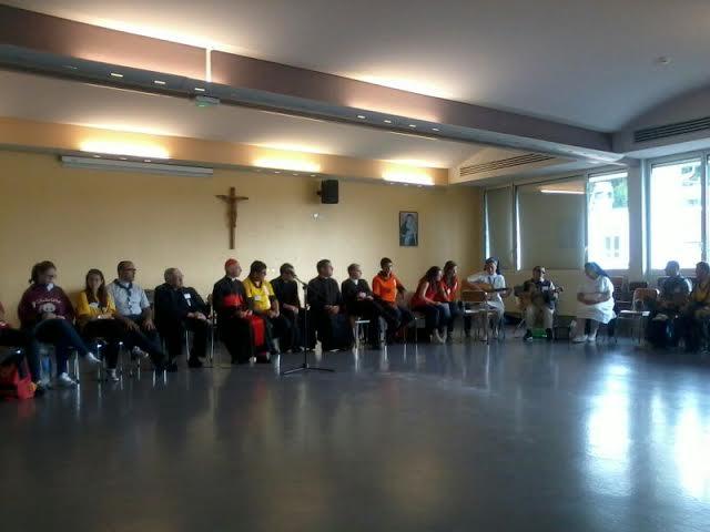Il Cardinale ai nostri ragazzi di Lourdes