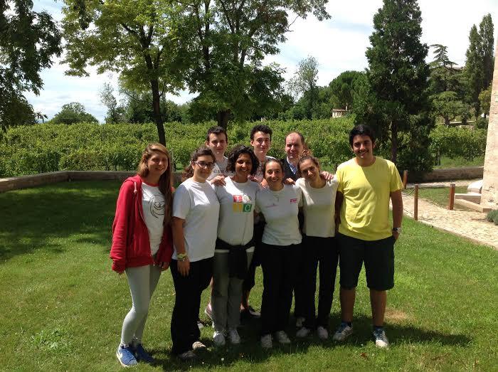 I Giovani del gruppo Monviso a San Masseo