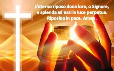 Festa di tutti i Santi e memoria di tutti i morti in Cristo