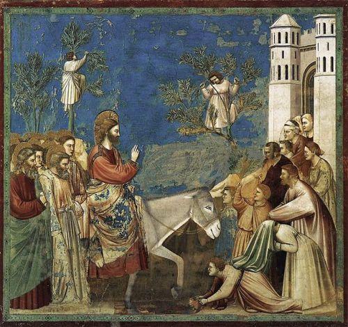 Ingresso di Gesù a Gerusalemme – Domenica delle Palme